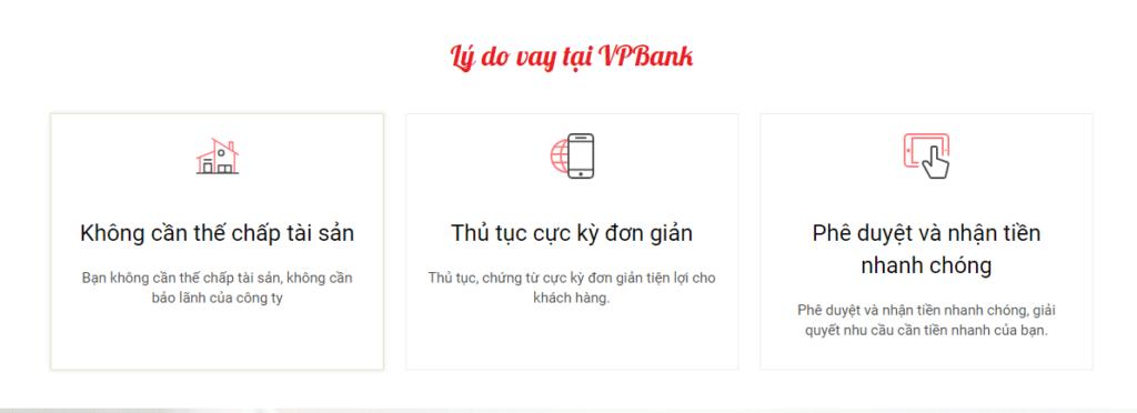 vay tiền online nhanh, Hướng dẫn vay tiền online nhanh tại VPBANK Online, Vay Tiền Liền