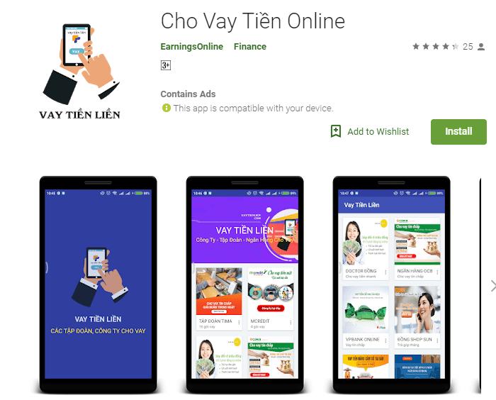 các ứng dụng vay tiền online nhanh, Các ứng dụng vay tiền online nhanh trên điện thoại, Vay Tiền Liền